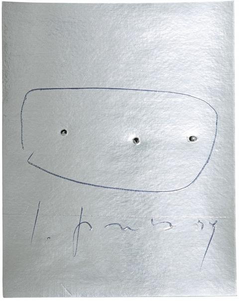 Lucio Fontana - Concetto spaziale (Aus: La Lune en Rodage)