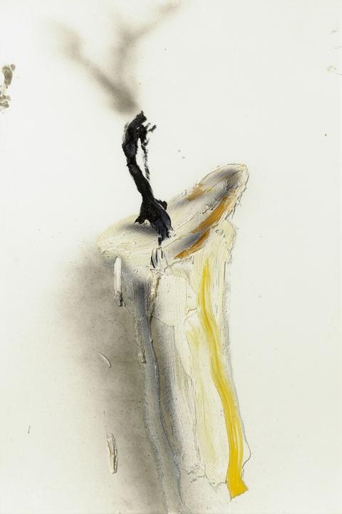 Dieter Krieg - Untitled (weiße Kerze)
