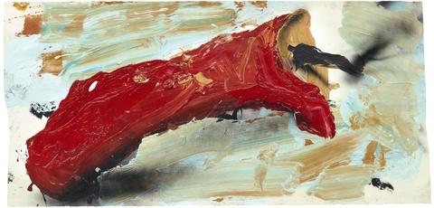 Dieter Krieg - Untitled (rote Kerze)