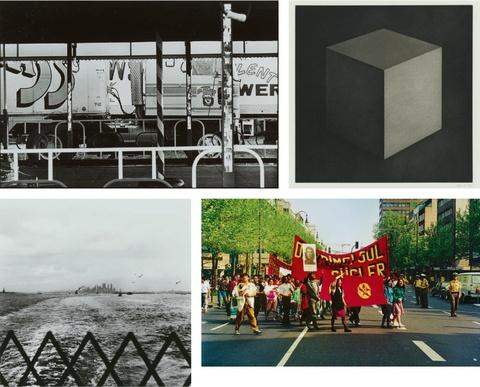 Gerhard Richter Sol LeWitt Robert Rauschenberg Ed Ruscha Mappenwerk - October Portfolio Two