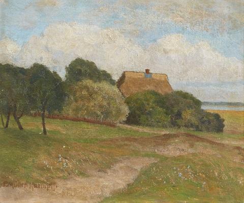 Paul Müller-Kaempff - Landscape with a House