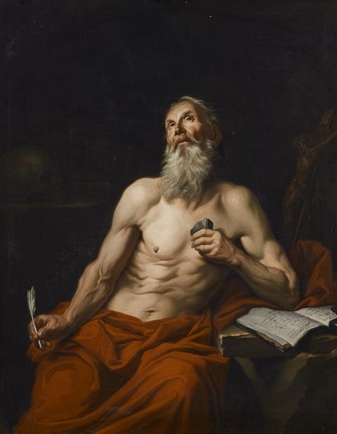 Italienischer Meister - Heiliger Hieronymus