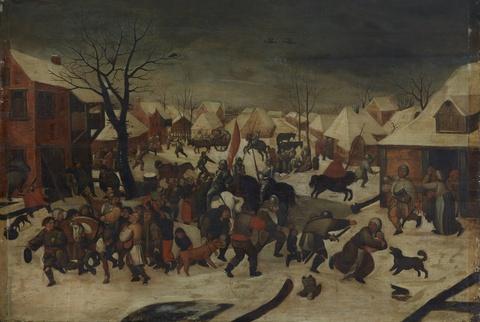 Pieter Brueghel d. J., nach - Kindermord in Bethlehem
