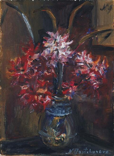 Natalja Sergejewna Gontscharowa - Kleiner Strauss (rote Blüten)