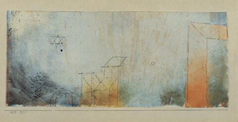Paul Klee - Ohne Titel (1915/221)