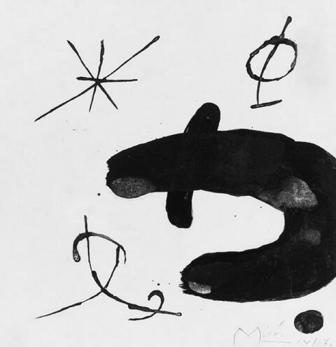 Joan Miró - Komposition