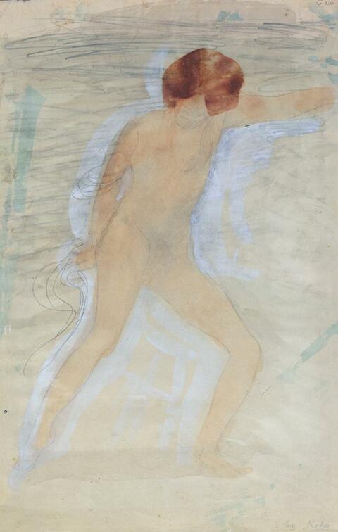 Auguste Rodin - Femme nue, debout