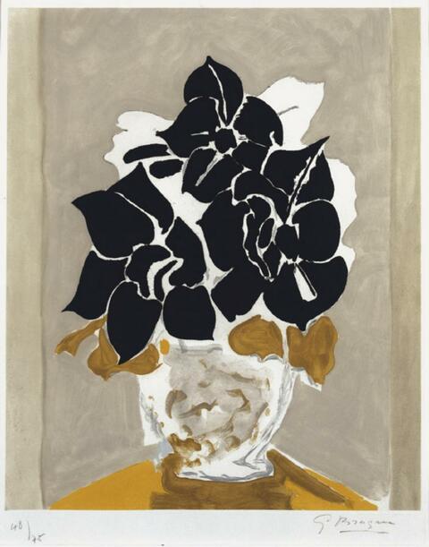 Georges Braque - Les amaryllis