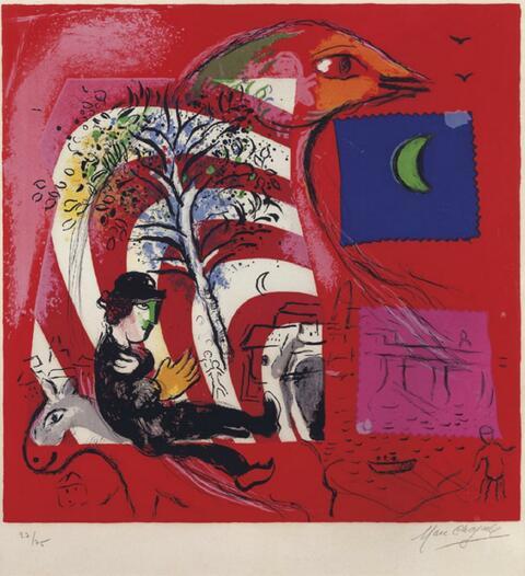 Marc Chagall - L'Arc-en-Ciel