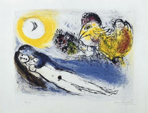 Marc Chagall - Paris grüßt