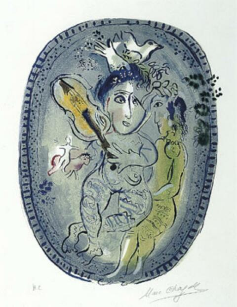 Marc Chagall - Das Spiel