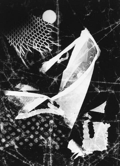 Heinz Hajek-Halke - Hemd eines Handlungsreisenden (Lichtgraphik)