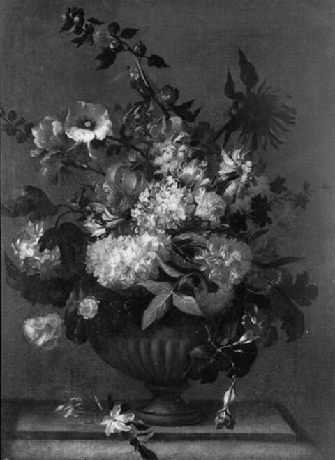 Jean-Baptiste Monnoyer, Umkreis - BLUMENSTILLEBEN.