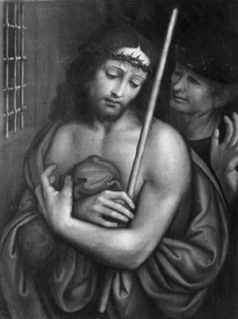 Spanischer Meister - DIE VERSPOTTUNG CHRISTI.