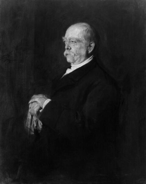 Franz Seraph von Lenbach, zugeschrieben - BILDNIS DES REICHSKANZLERS OTTO FÜRST VON BISMARCK.