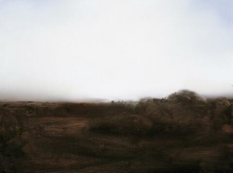Gerhard Richter - Teyde-Landschaft, Skizze