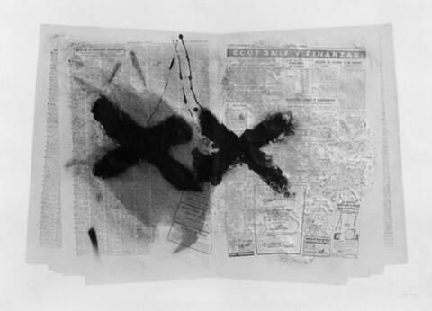 Antoni Tàpies - Matière et journal