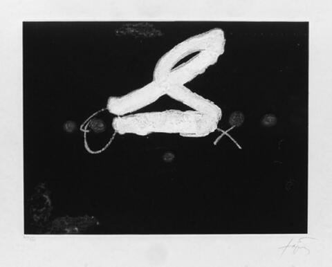 Antoni Tàpies - La S