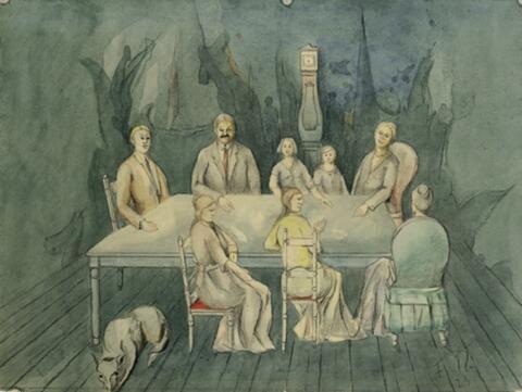 Franz Radziwill - Schweigende Gesellschaft