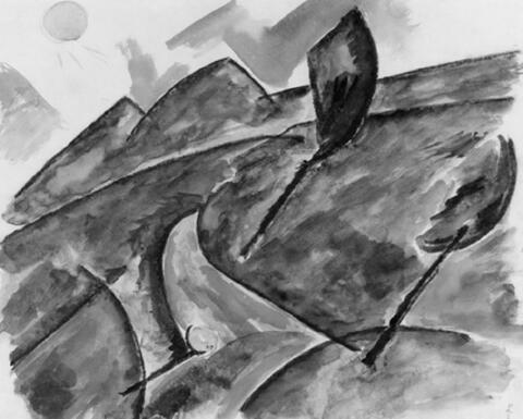 Franz Wilhelm Seiwert - Kleine Landschaft