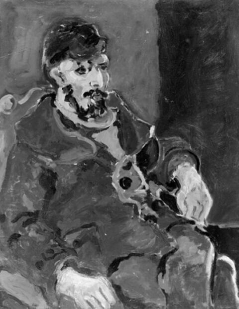 William Straube - Männliches Bildnis