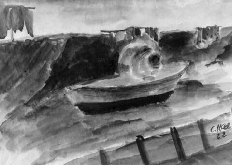 Christoph Voll - Mann mit Boot