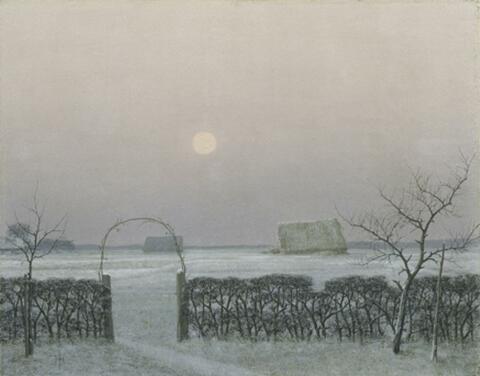 Herbert Böttger - Winterabend