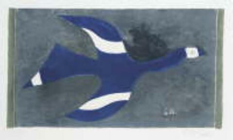 Georges Braque - Vol de Nuit (Oiseau XII)
