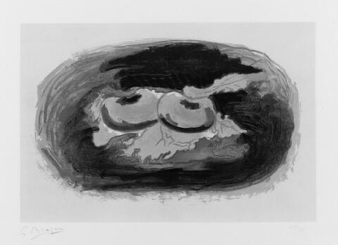 Georges Braque - Pommes et feuilles
