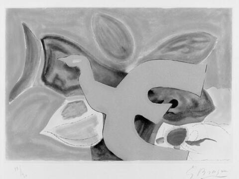 Georges Braque - Aus: L'Ordre des Oiseaux