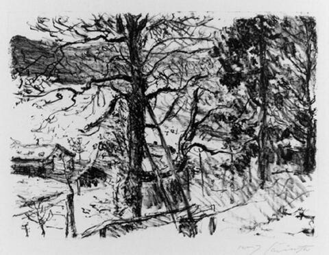 Lovis Corinth - Vorfrühling im Gebirge