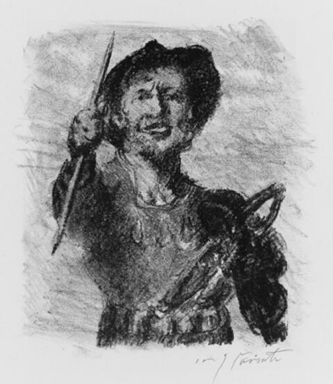 Lovis Corinth - Wilhelm Tell
