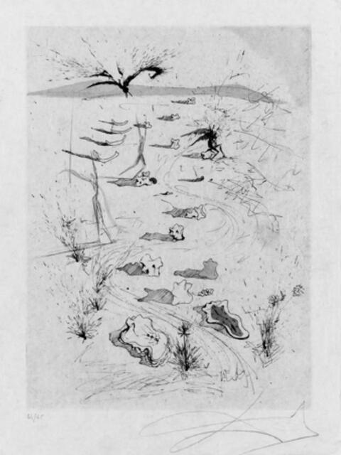 Salvador Dali Y Domenech - Poèmes secrets d' Apollinaire