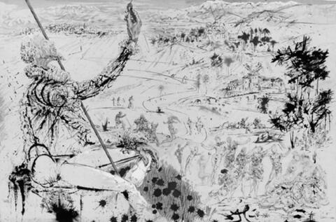 Salvador Dali Y Domenech - Don Quichotte de la Manche