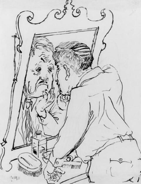 George Grosz - The day after