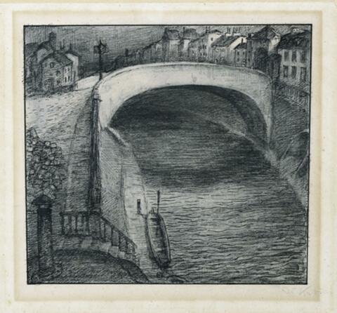 Alfred Kubin - Blick über den Kanal