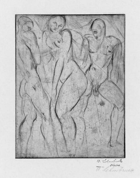Wilhelm Lehmbruck - Die Sklavin