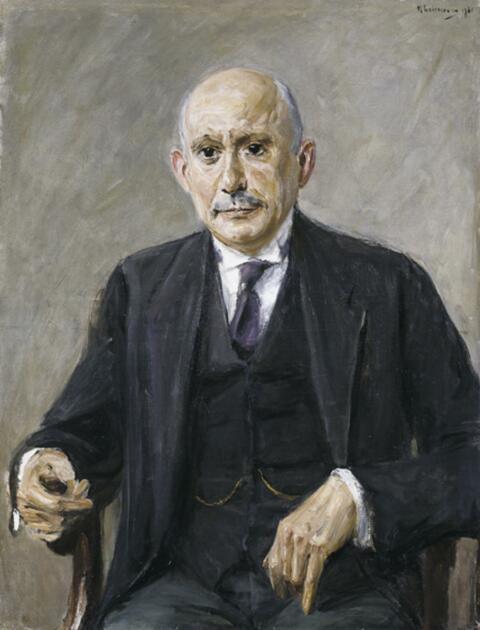 Max Liebermann - Bildnis Felix Benjamin (1871 - 1943)