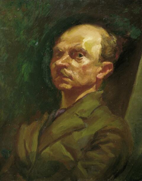 Ludwig Meidner - Selbstporträt