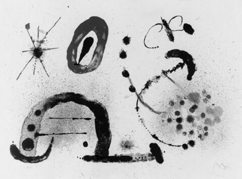 Joan Miró - La Fille du Jardinier