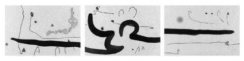 Joan Miró - Zu: René Char, Le Marteau sans maître