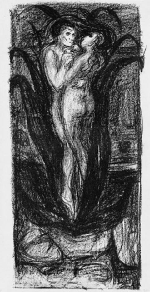 Edvard Munch - Blume der Liebe