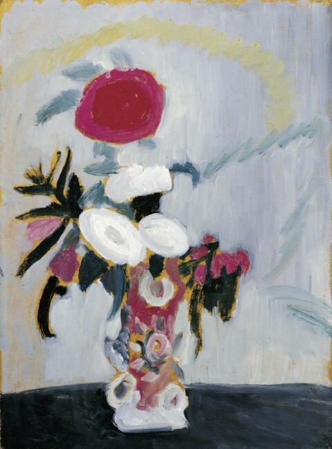 Gabriele Münter - Blumenbild M 4