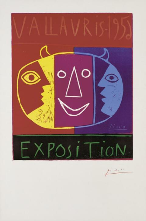 Pablo Picasso - Vallauris - 1956 Exposition