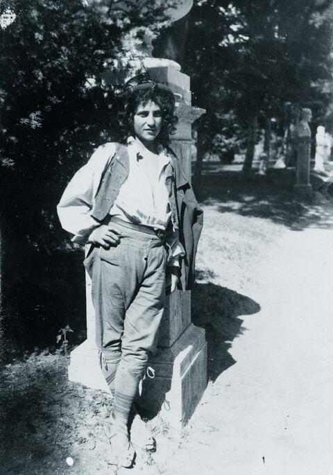 Guglielmo (Wilhelm) Plüschow - Junger Mann