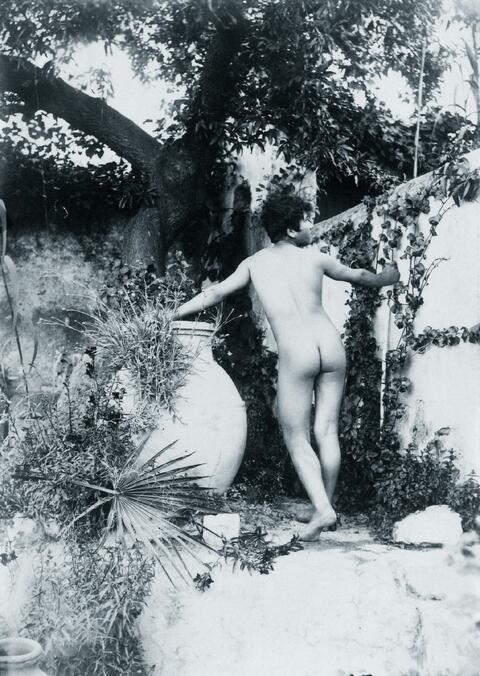 Wilhelm von Gloeden - Rückenakt