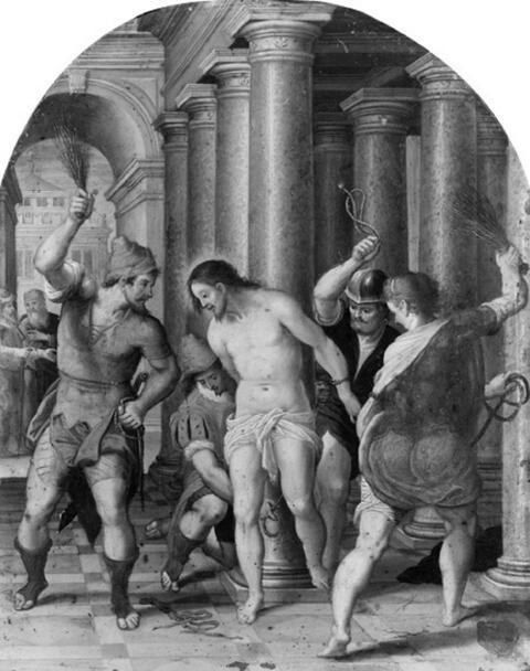 Frans Francken d. J., Umkreis - ZWEI SZENEN AUS DER PASSION CHRISTI.