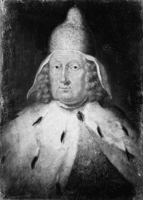 Venezianischer Meister - BILDNIS DES DOGEN CARLO RUZZINI (1653-1735).