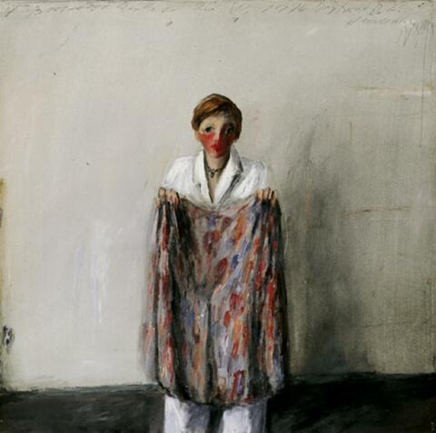 Klaus Fußmann - Portrait H.K. Hardenbergstrasse