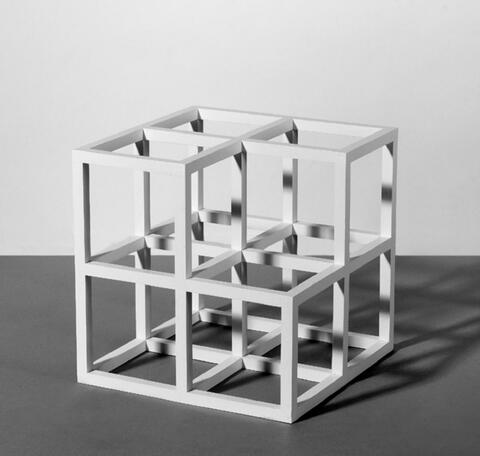 Sol LeWitt - Cube without a Cube
